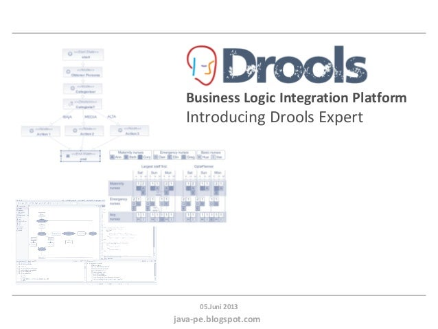 java-pe.blogspot.com05.Juni 2013Business Logic Integration PlatformIntroducing Drools Expert