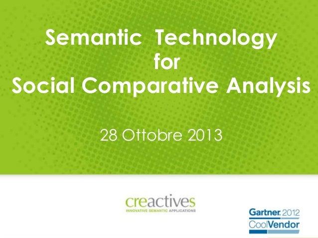 Social Comparative Analysis