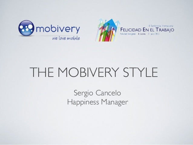 Sergio Cancelo Happiness Manager THE MOBIVERY STYLE