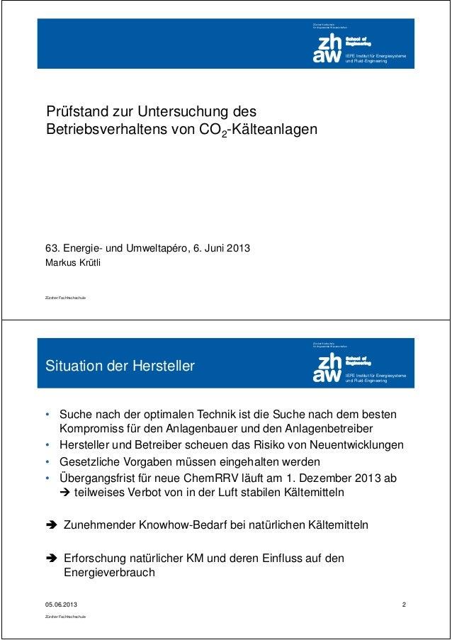 IEFE Institut für Energiesysteme und Fluid-Engineering School of Engineering Zürcher Hochschule für Angewandte Wissenschaf...