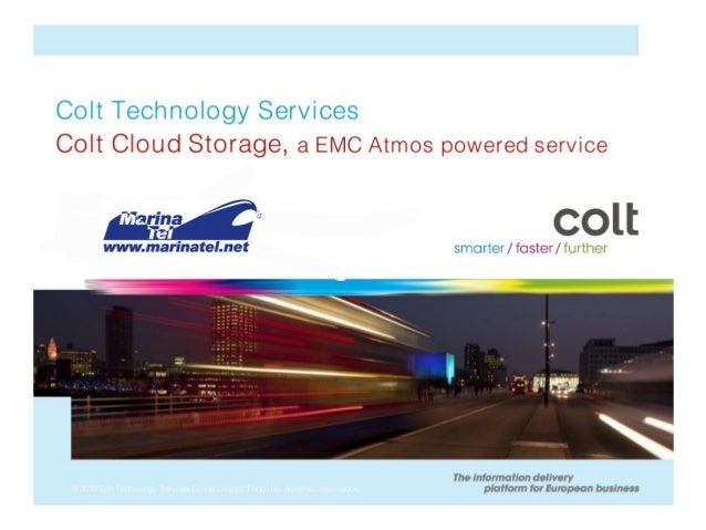 Colt Cloud Storage by EMC Atmos