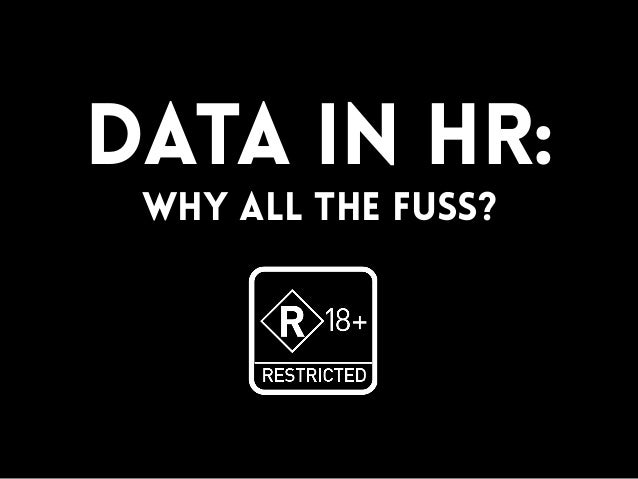 Big data in HR: Why all the fuss?