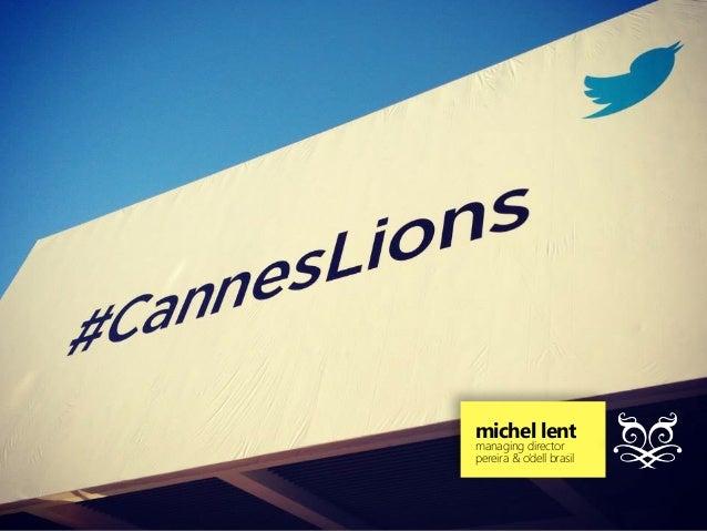Mobile @ Cannes Lions 2013