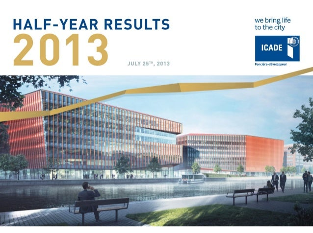 130725 - Presentation of the half-year results 2013 icade – vuk