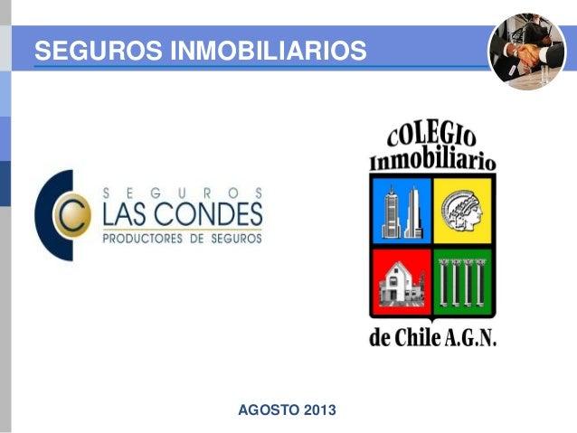 Seguros Inmobiliarios - Colegio Inmobiliario de Chile AGN