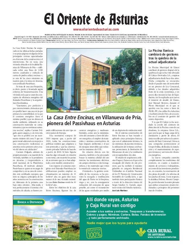 Casa EntreEncinas_El Oriente de Asturias_contraportada