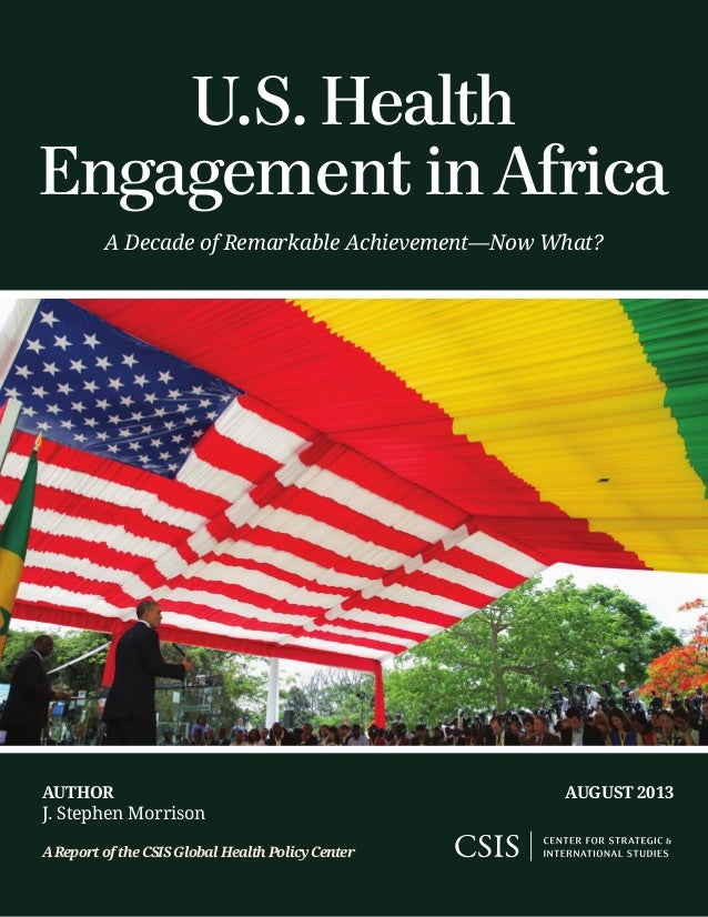 US Health Engagement in Africa: What Now