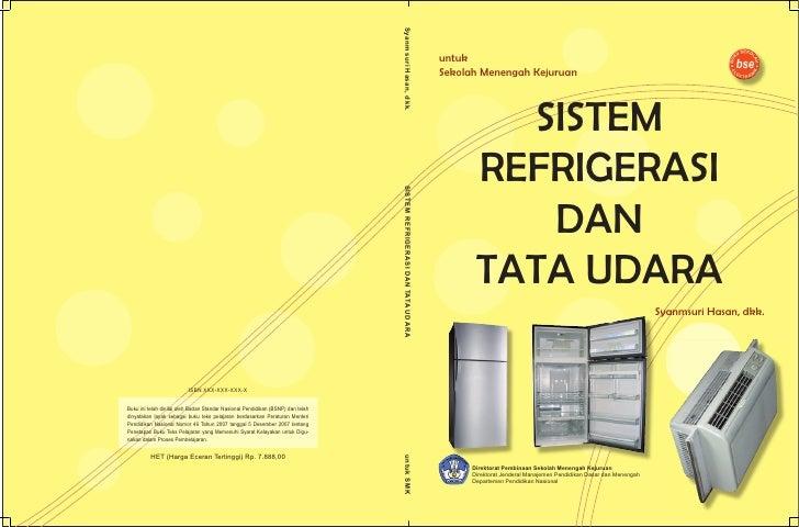 Sistem Refrigerasi dan Tata Udara, SMK,  MAK,  Kelas10,  Syanmsuri dkk
