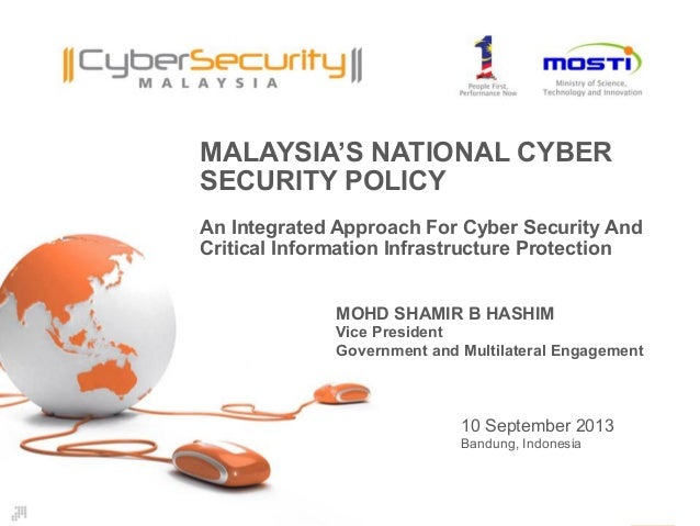 Malaysia's National Cyber Security Policy
