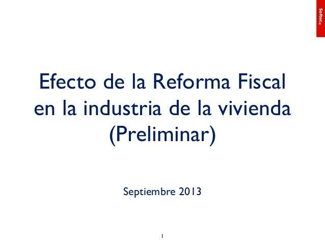 Efectos de la reforma fiscal