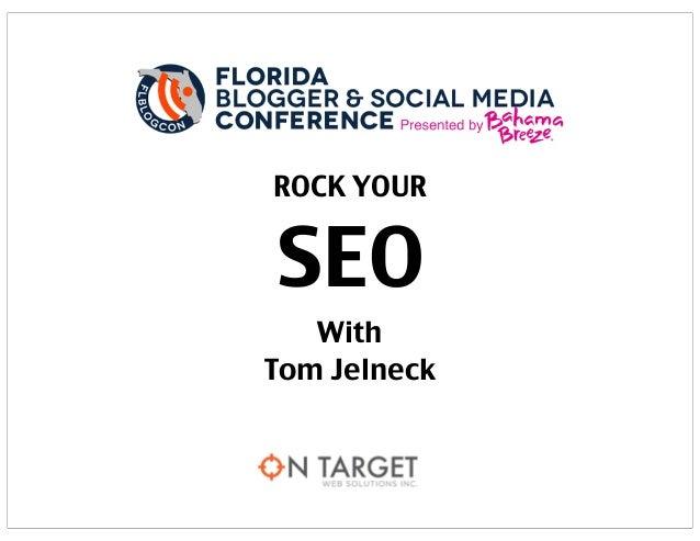 ROCK YOUR SEO With Tom Jelneck