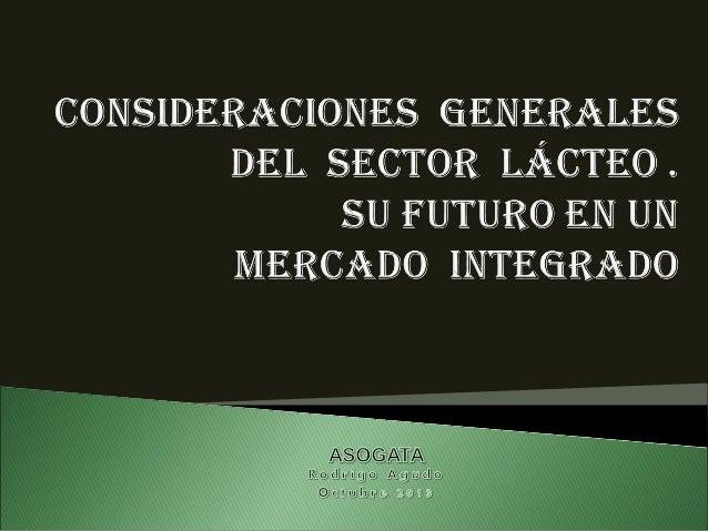sector lácteo venezolano. su  futuro en un mercado integrado