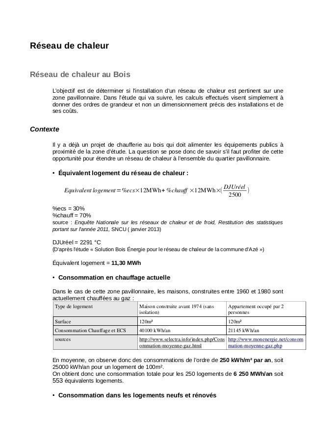 Réseaudechaleur RéseaudechaleurauBois L'objectifestdedéterminersil'installationd'unréseaudechaleurestpert...