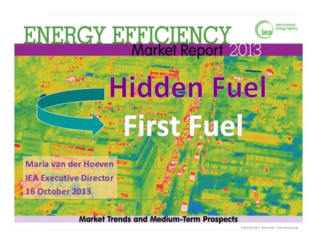 Energy efficiency from hidden fuel to world's first fuel?