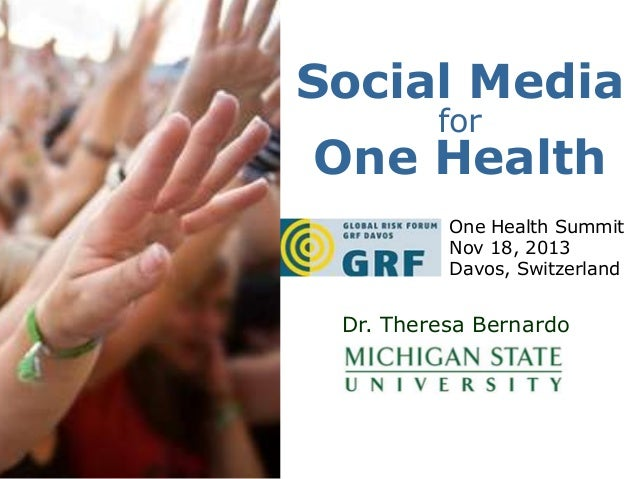 Social Media For One Health: From Early Warning To Prevention