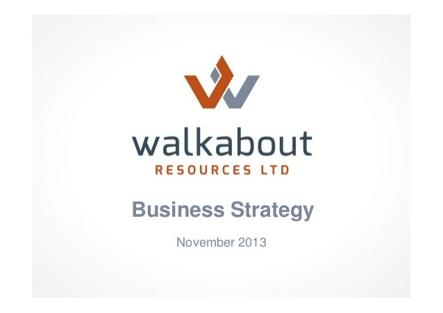 Business Strategy November 2013