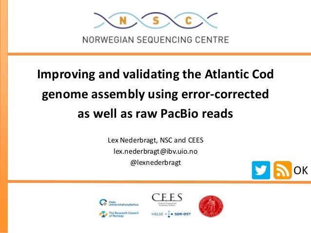 Improving and validating the Atlantic Cod genome assembly using PacBio