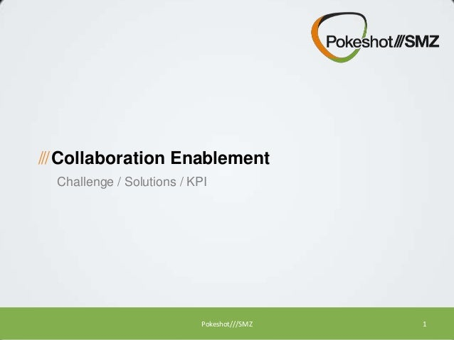 Collaboration Enablement