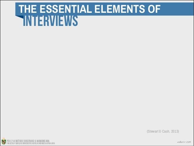 Interviewing Stewart And Cash Interviews Stewart Cash
