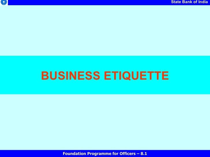 13 1 4 1 Ss Business Etiquette