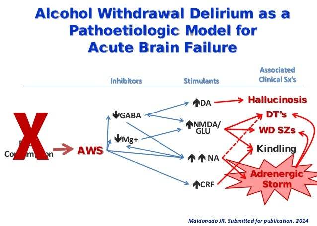 Alcohol Withdrawal Gaba Neurobiology and treatment of alcohol ...
