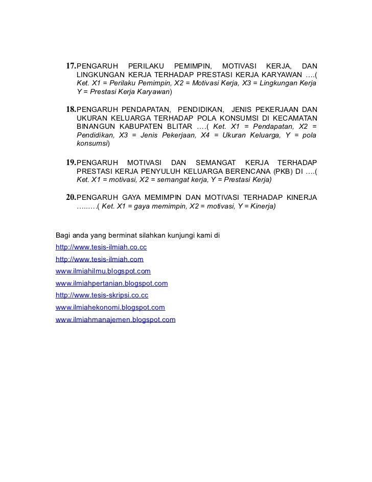 Proposal Tesis Penelitian Kualitatif Manajemen Pendidikan Dental