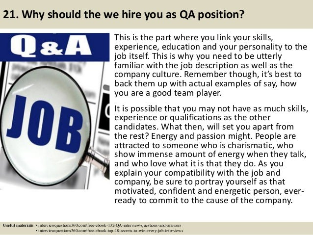 132 qa interview questions and answers pdf
