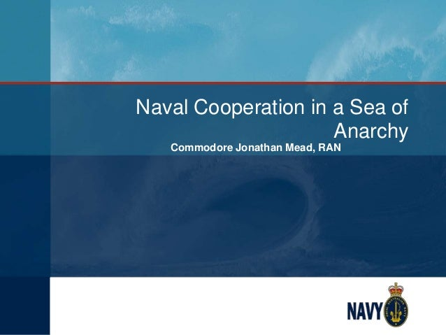 Naval Cooperation in a Sea of Anarchy Commodore Jonathan Mead, RAN