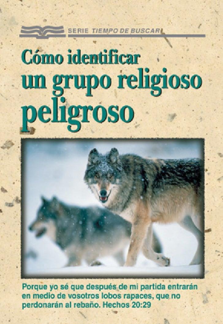 Cómo                         identificar                         un grupo               Contenido religioso               ...