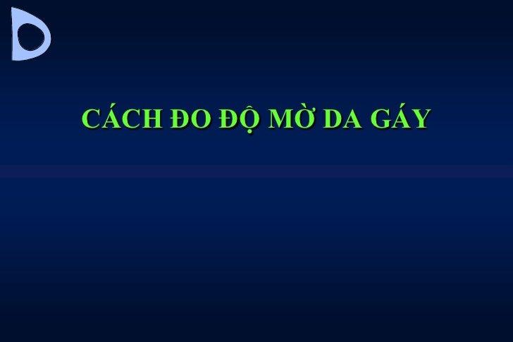 Cach Do Do Mo Da Gay