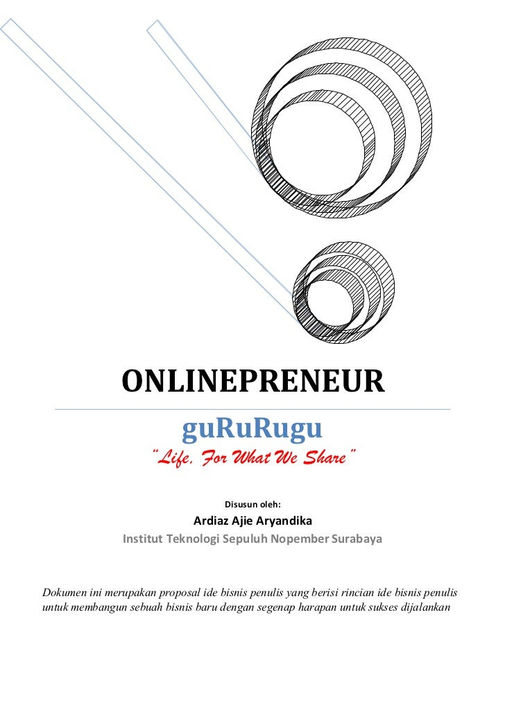 "ONLINEPRENEUR                             guRuRugu                      ""Life, For What We Share""                         ..."