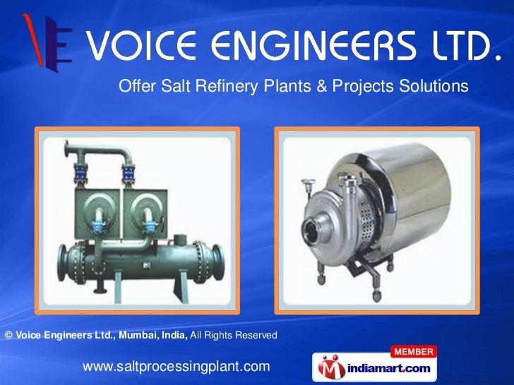 Voice Engineers Limited Maharashtra India