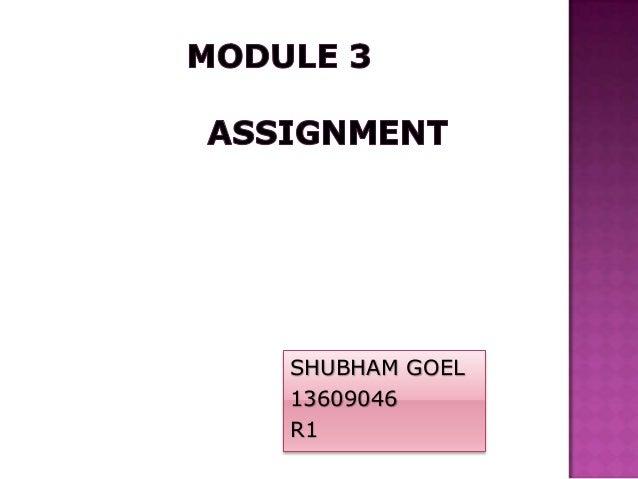 SHUBHAM GOEL 13609046 R1