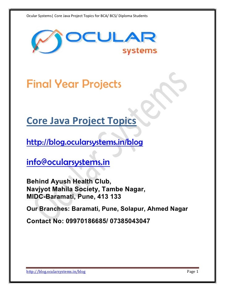 Core-java- application-projects-ocularsystems.in_