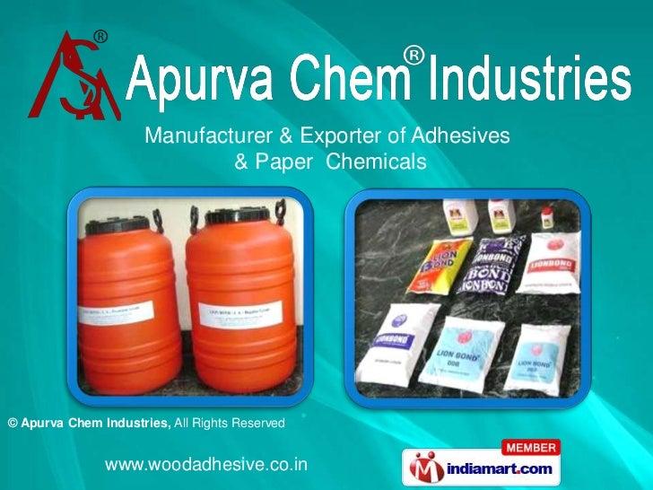 Apurva Chem Industries Tamil Nadu India