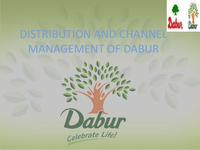 distribution and channel management of Dabur
