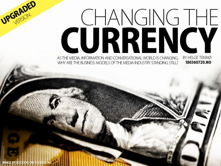 Changing The  Currency