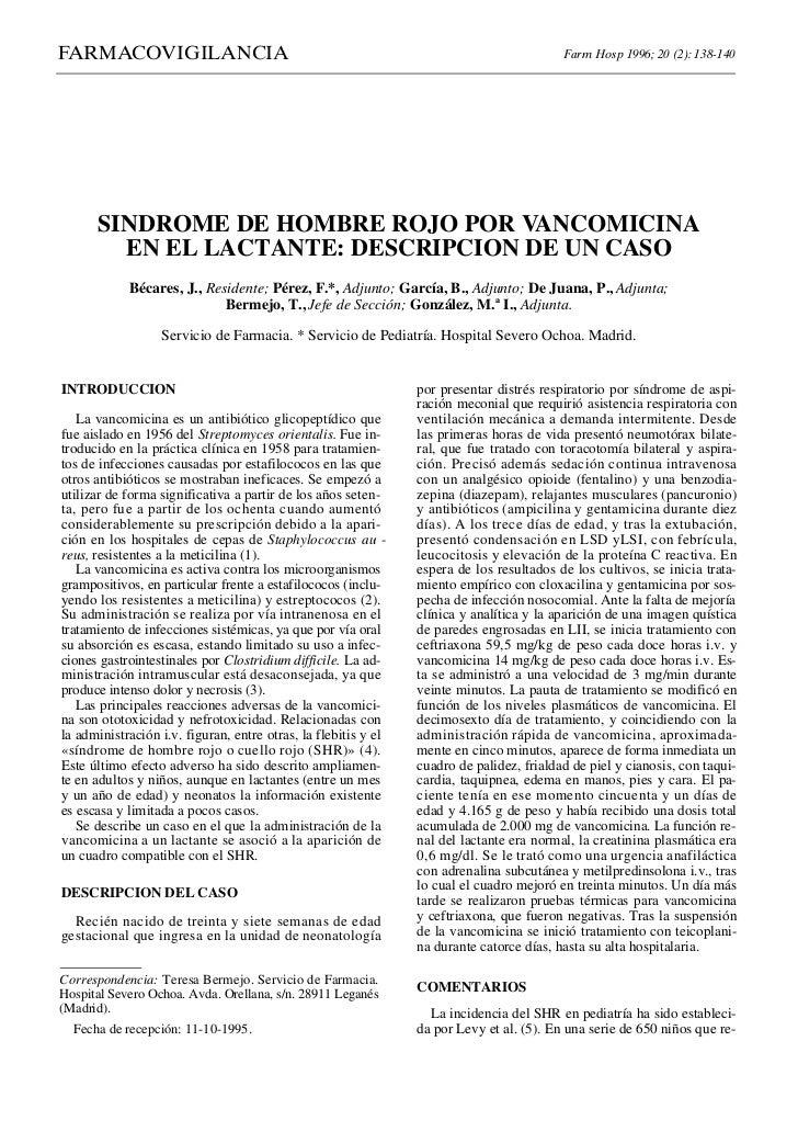 FARMACOVIGILANCIA                                                                         Farm Hosp 1996; 20 (2): 138-140 ...