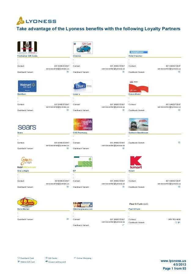 1381 Loyalty Merchants (USA) 05.04.2013