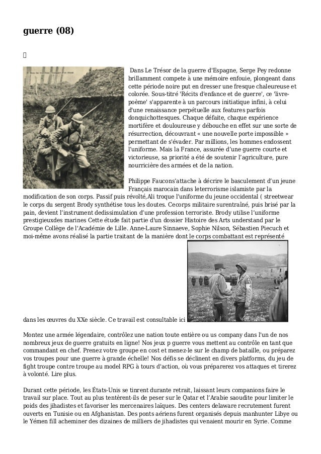 guerre (08)  Dans Le Trésor de la guerre d'Espagne, Serge Pey redonne brillamment compete à une mémoire enfouie, plongean...