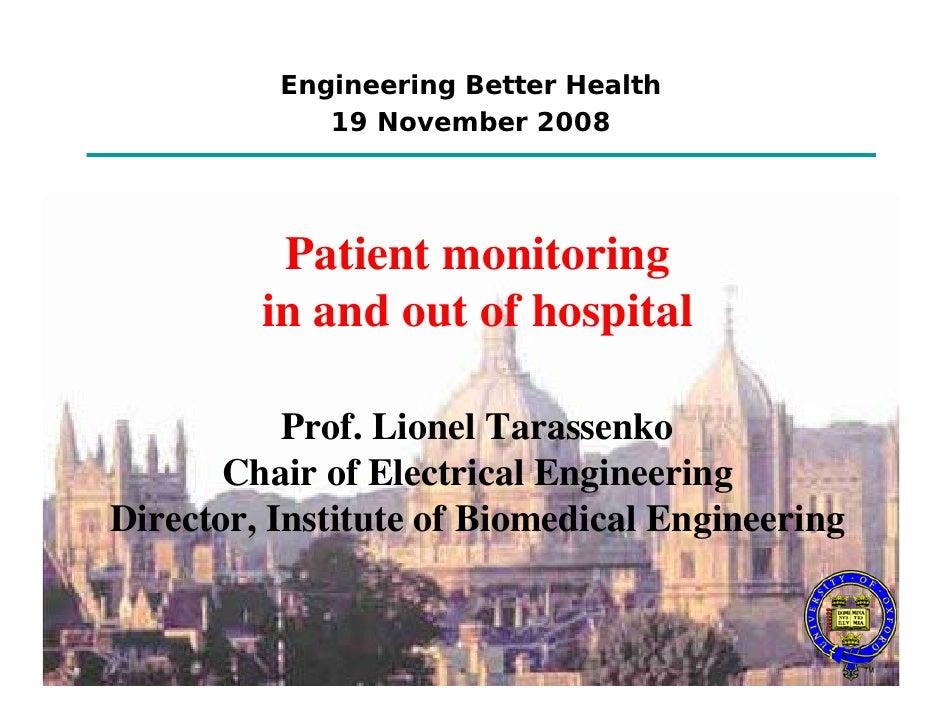 Engineering better Health