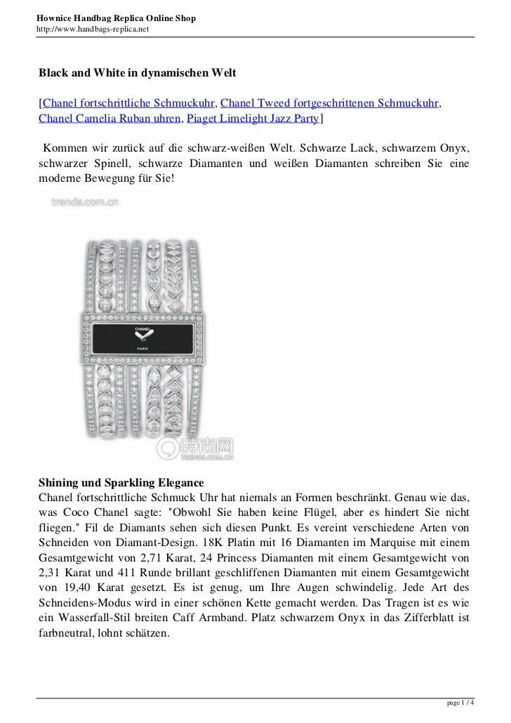 Hownice Handbag Replica Online Shophttp://www.handbags-replica.netBlack and White in dynamischen Welt[Chanel fortschrittli...