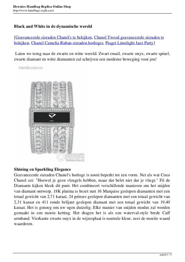 Hownice Handbag Replica Online Shophttp://www.handbags-replica.netBlack and White in de dynamische wereld[Geavanceerde sie...