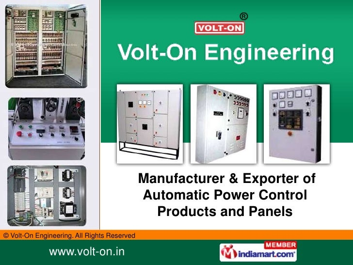 Manufacturer & Exporter of                                             Automatic Power Control                            ...