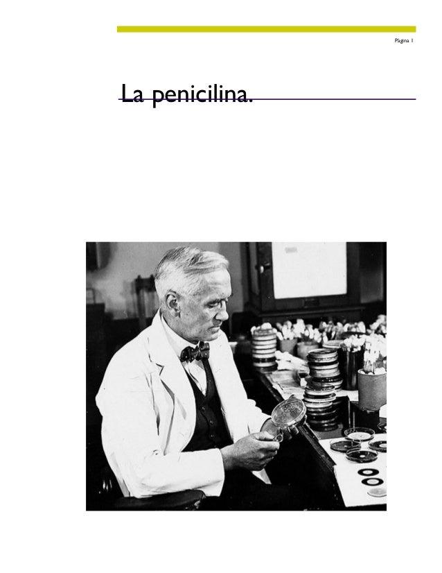 Página 1La penicilina.