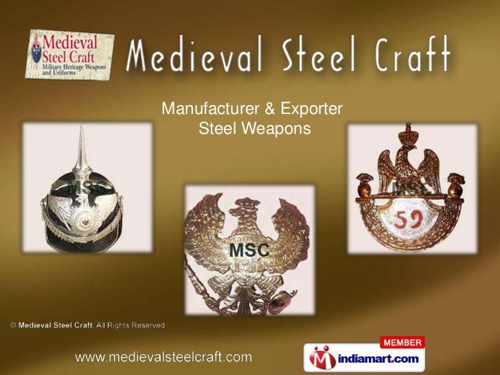 Medieval Helmets by Medieval Steel Craft New Delhi