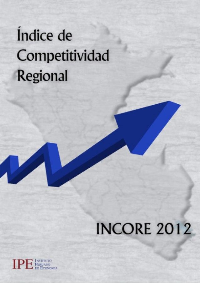 El Instituto Peruano  de  Economía (IPE)  es una asociación civil de derecho privado y sin fines de lucro, cuyo  objetivo ...