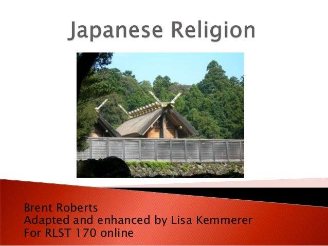 Brent Roberts Adapted and enhanced by Lisa Kemmerer For RLST 170 online