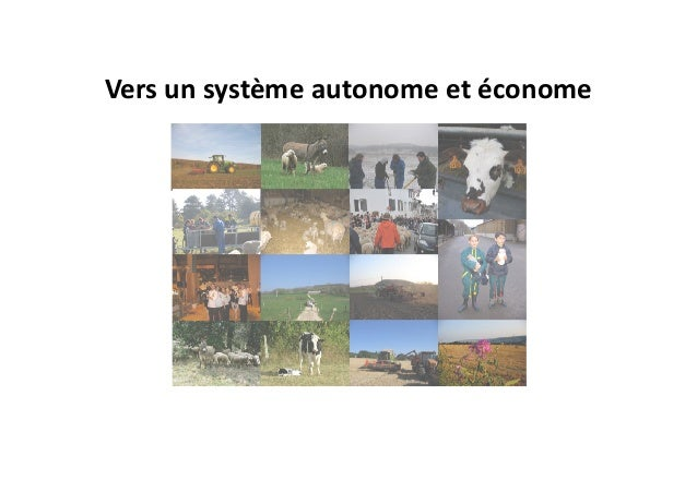 Vers un système autonome et économe