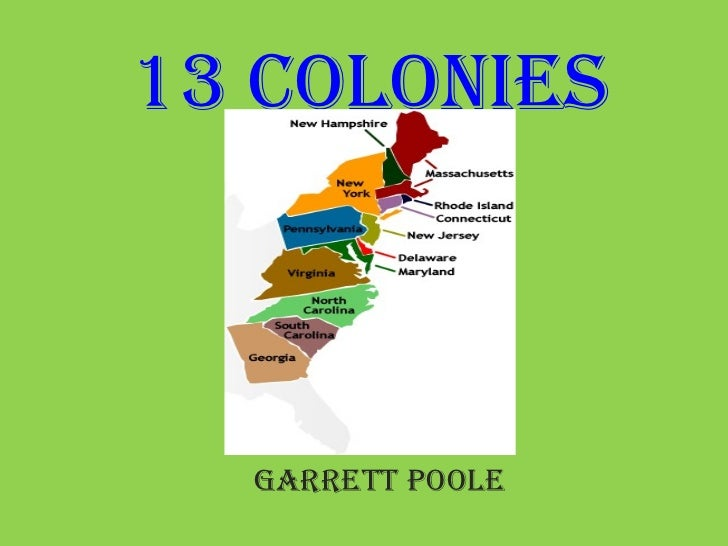 The 13 Colonies Names | New Calendar Template Site